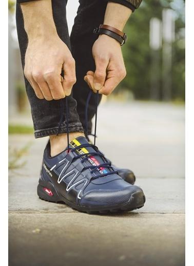 Oksit Filling 756 Erkek Sneaker Lacivert